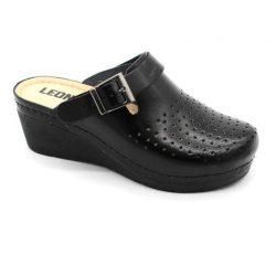 Leon Comfort női papucs - 1000 Fekete