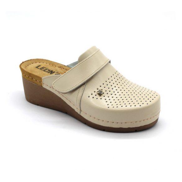 Leon Comfort női papucs - 1001 Bézs