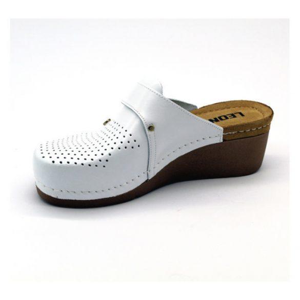 Leon Comfort női papucs - 1001 Fehér