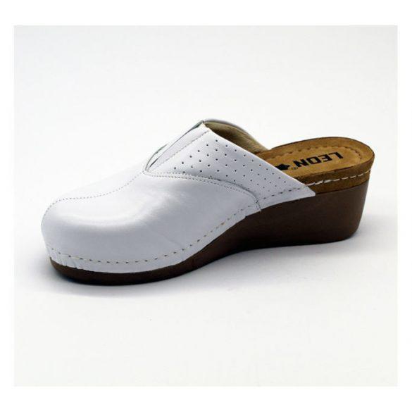 Leon Comfort női papucs - 1002 Fehér