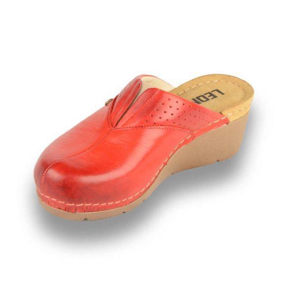 Leon Comfort női papucs - 1002 Piros