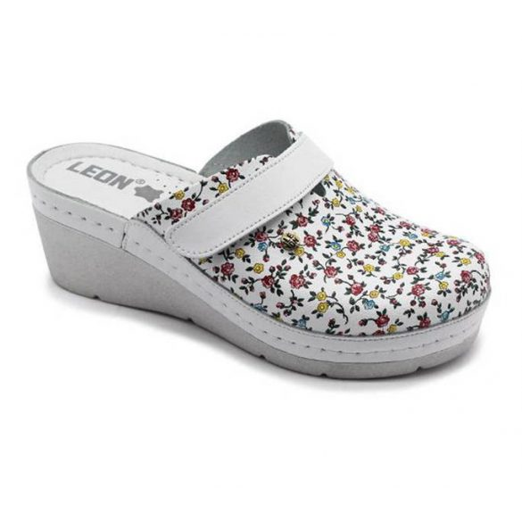 Leon Comfort női papucs - 1003 Citrom-virag