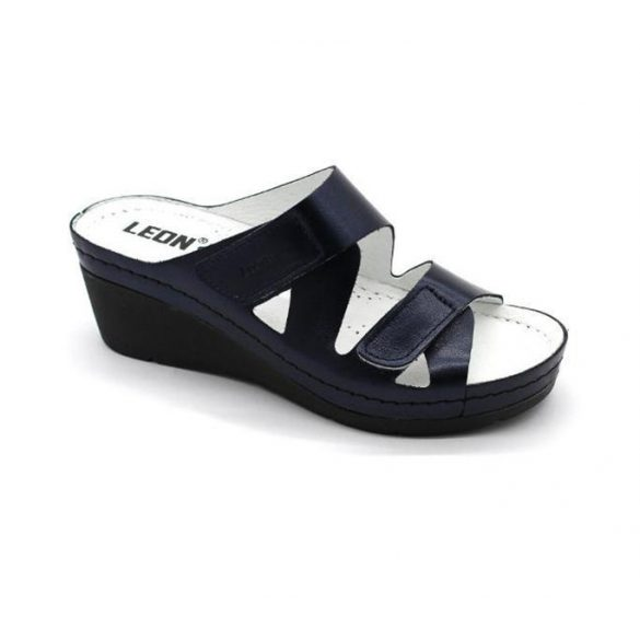Leon Comfort női papucs - 1004 Kék