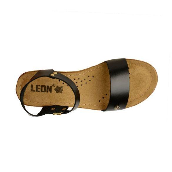 Leon Comfort női szandál - 1015 Fekete