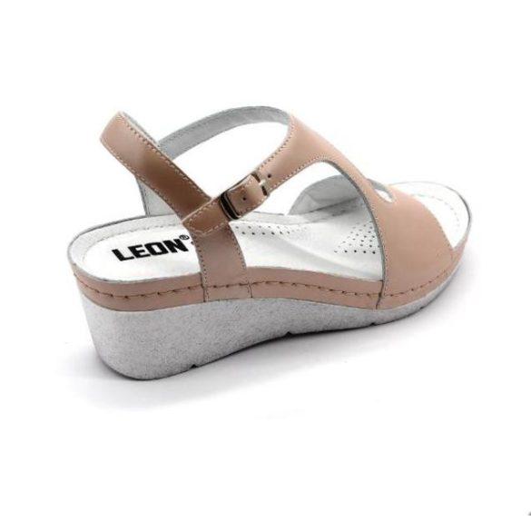 Leon Comfort női szandál - 1050 Púder