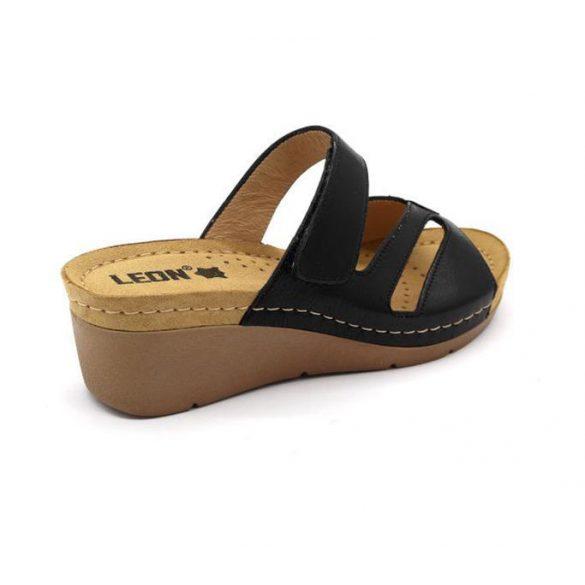 Leon Comfort női papucs - 1055 Fekete