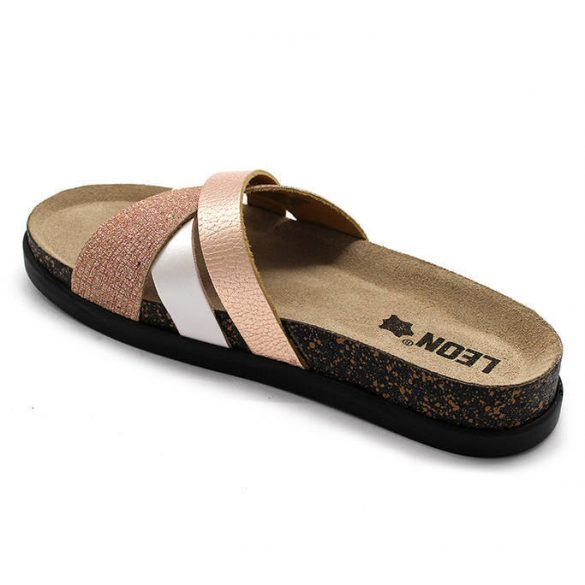 Leon Comfort női papucs - 1201 Perla