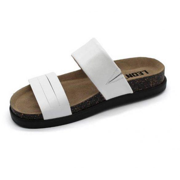 Leon Comfort női papucs - 1206 fehér