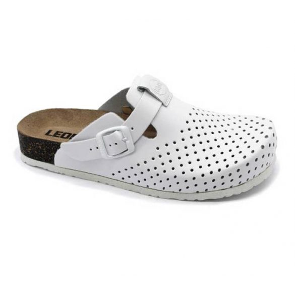 Leon Comfort női papucs - 1250 Fehér