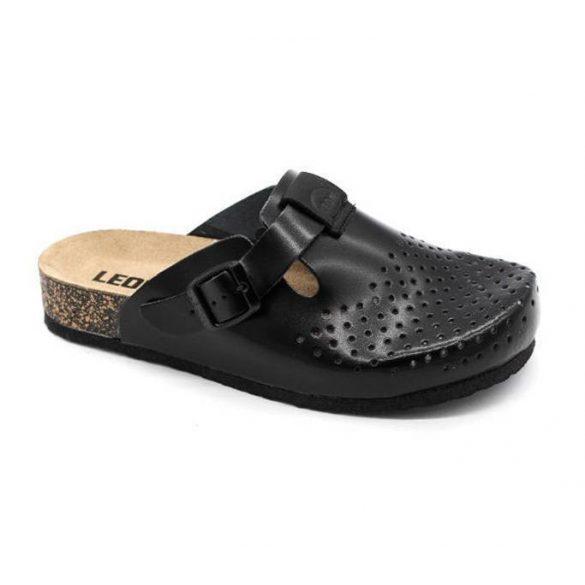 Leon Comfort női papucs - 1250 Fekete