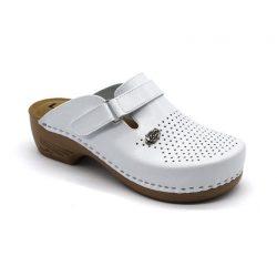 Leon Comfort női papucs - 159 Fehér