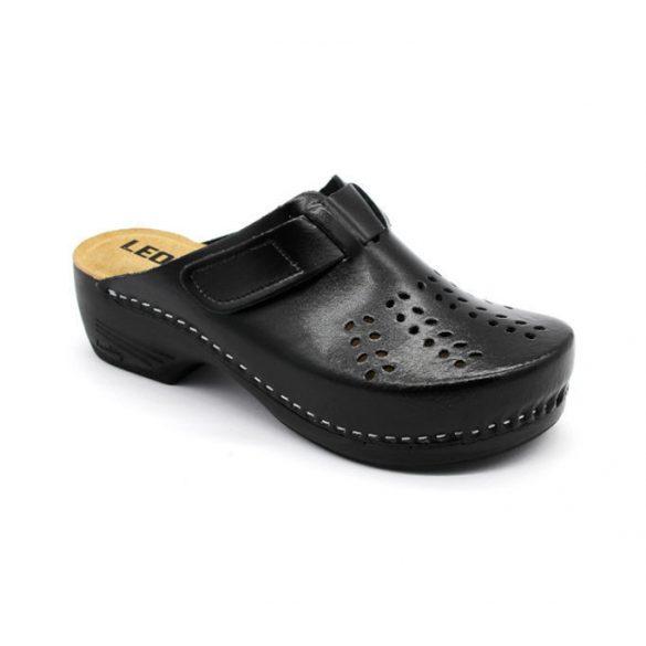 Leon Comfort női papucs - 161 Fekete