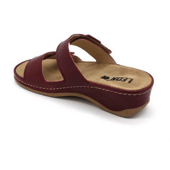 Leon Comfort női papucs - 2020 bordó