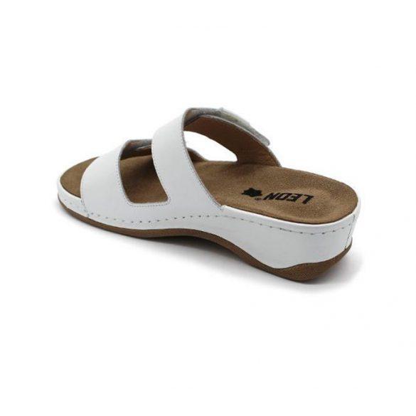 Leon Comfort női papucs - 2020 fehér