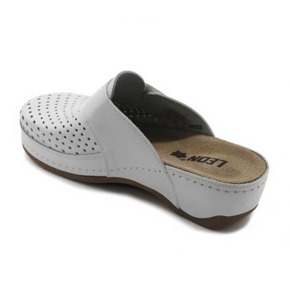 Leon Comfort női papucs - 2022 Feher