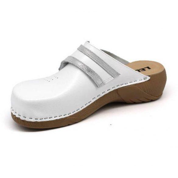 Leon Comfort női papucs - 3200 Fehér