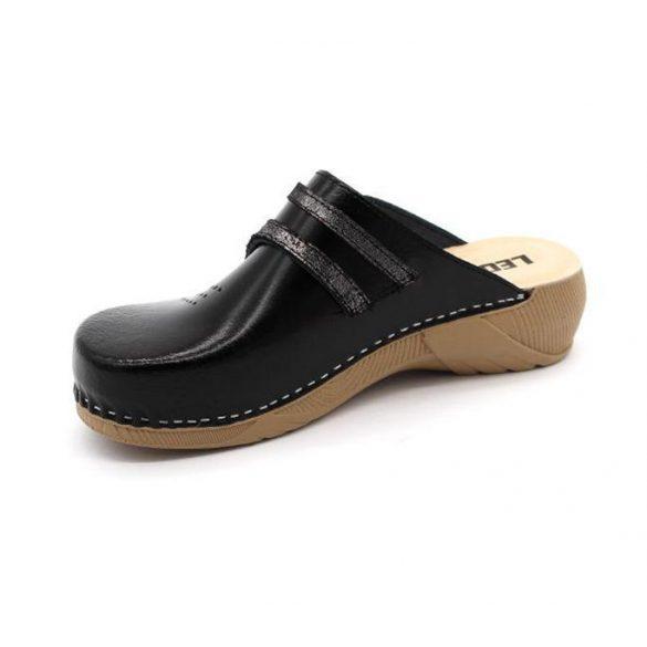 Leon Comfort női papucs - 3200 Fekete