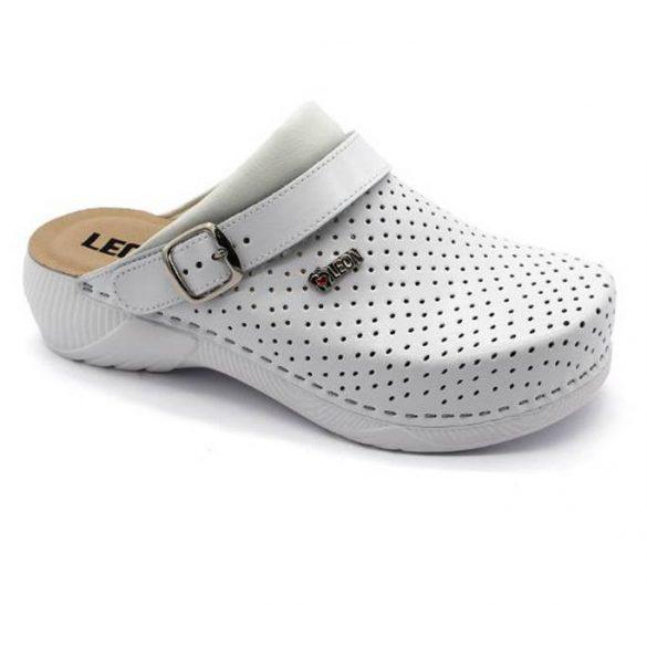 Leon Comfort női papucs - 3300 Fehér