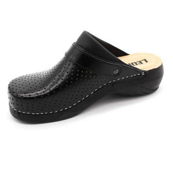 Leon Comfort női papucs - 3300 Fekete
