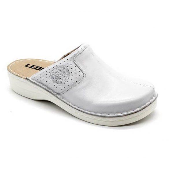 Leon Comfort női papucs - 360 Fehér
