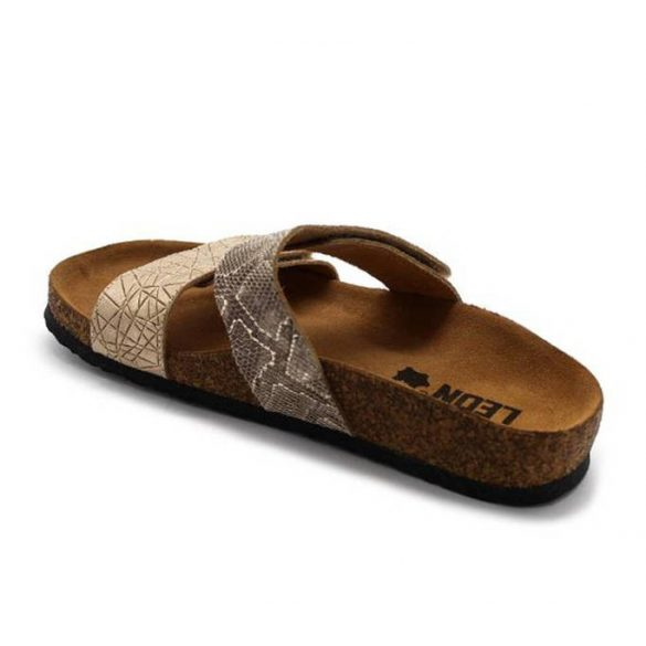 Leon Comfort női papucs - 4000 Arany-Kigyo