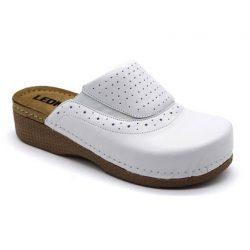 Leon Comfort női papucs - 400 Fehér