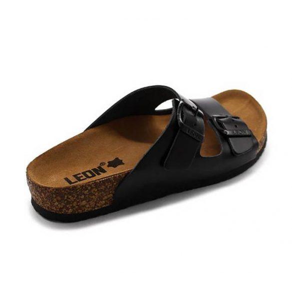 Leon Comfort női papucs - 4010 Fekete