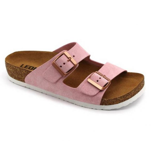 Leon Comfort női papucs - 4010 Rozsa