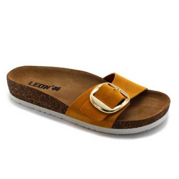 Leon Comfort női papucs - 4020 Sarga