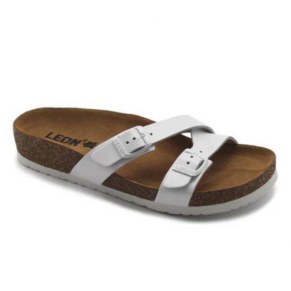 Leon Comfort női papucs - 4030 Fehér