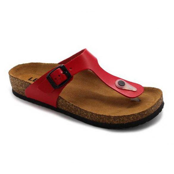 Leon Comfort női papucs - 4080 Piros