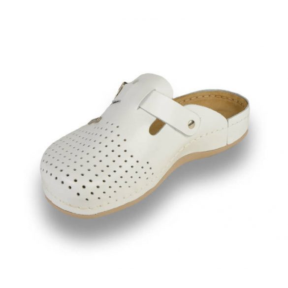 Leon Comfort férfi papucs - 700 Fehér