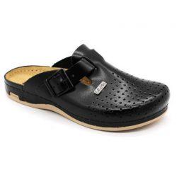 Leon Comfort férfi papucs - 700 Fekete