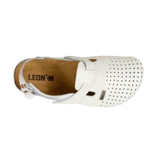 Leon Comfort férfi szandál - 701 Fehér
