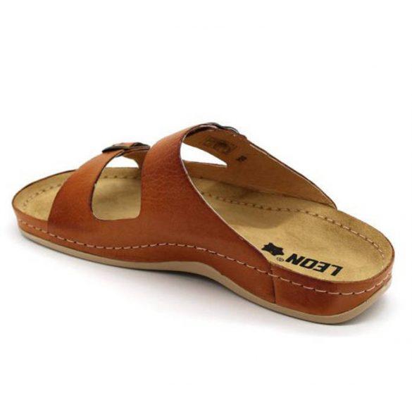 Leon Comfort férfi papucs - 703 Brown