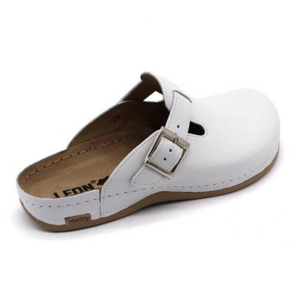 Leon Comfort férfi papucs - 707 Fehér