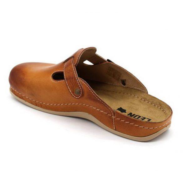 Leon Comfort férfi papucs - 707 barna