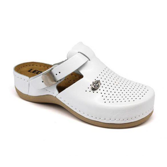Leon Comfort női papucs - 900 Fehér