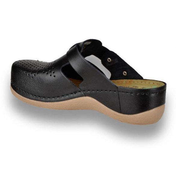 Leon Comfort női papucs - 900 Fekete