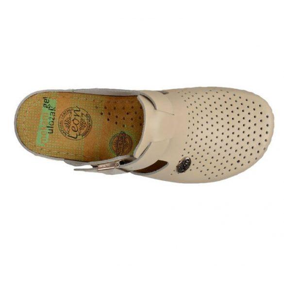 Leon Comfort női papucs - 900 bézs