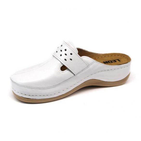 Leon Comfort női papucs - 902 Fehér
