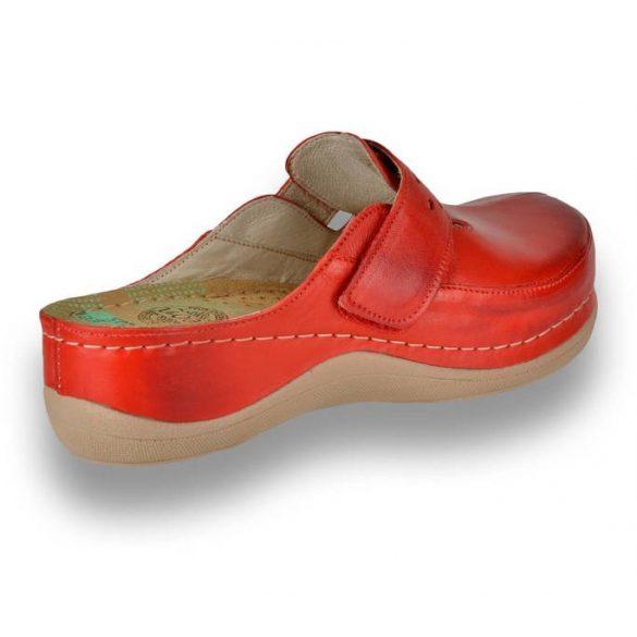 Leon Comfort női papucs - 902 Piros