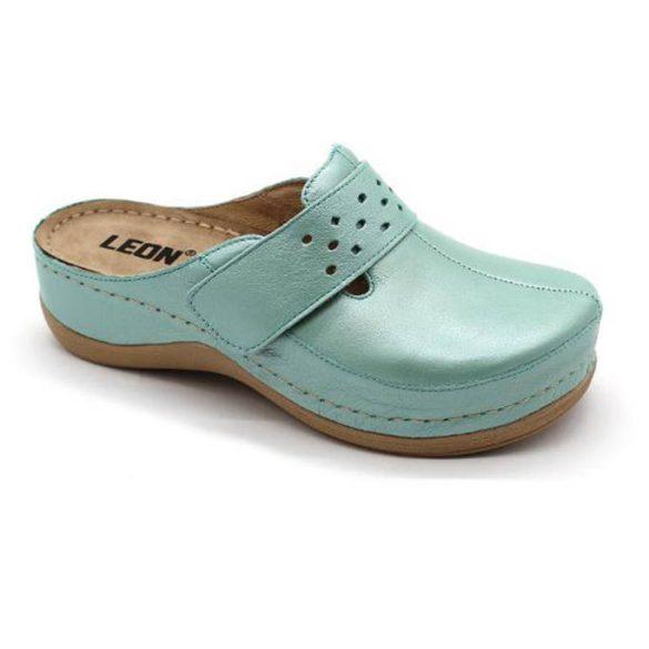 Leon Comfort női papucs - 902 Türkiz-világos