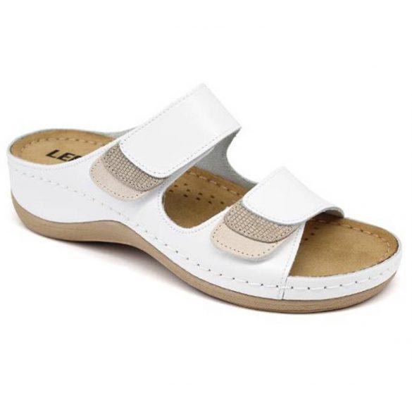 Leon Comfort női papucs - 904 Fehér