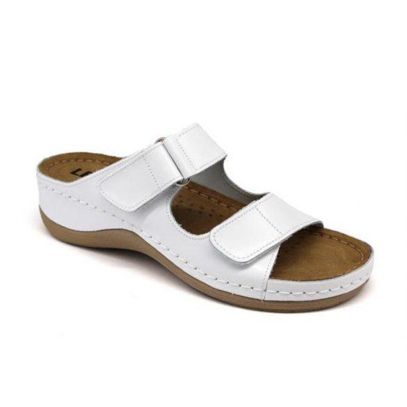 Leon Comfort női papucs - 905 Fehér