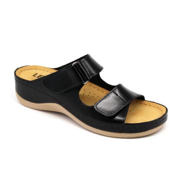 Leon Comfort női papucs - 905 Fekete