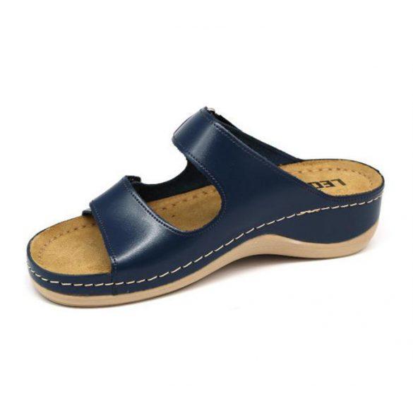 Leon Comfort női papucs - 905 s.kék