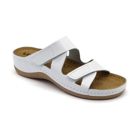 Leon Comfort női papucs - 906 Fehér