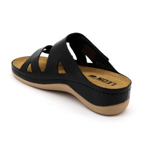 Leon Comfort női papucs - 906 Fekete