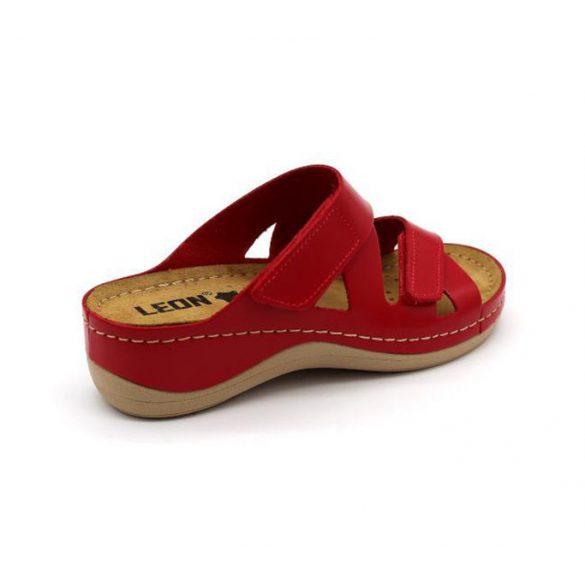 Leon Comfort női papucs - 906 Piros